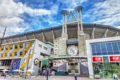 Estadio de Ajax foto de archivo