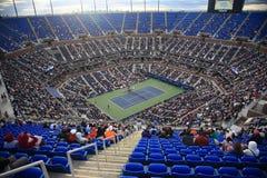 Estadio de Ashe - los E.E.U.U. abren tenis imagenes de archivo