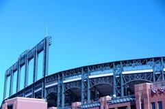 Estadio de béisbol 1 Fotografía de archivo libre de regalías