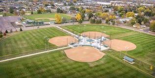 Estadio de béisbol imágenes de archivo libres de regalías