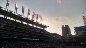 Estadio de béisbol de Cleveland foto de archivo libre de regalías