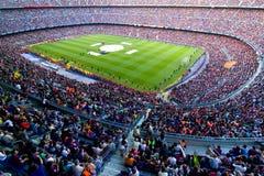 Estadio de Barcelona Imagen de archivo