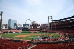 Estadio de Busch - cardenales de St. Louis Imagenes de archivo