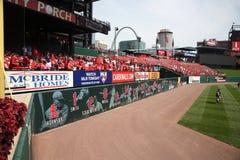 Estadio de Busch - cardenales de St. Louis Fotos de archivo libres de regalías