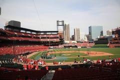 Estadio de Busch - cardenales de St. Louis Foto de archivo