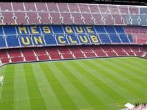 Estadio de Camp Nou en Barcelona, España Fotografía de archivo