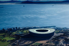 Estadio de Ciudad del Cabo Fotografía de archivo