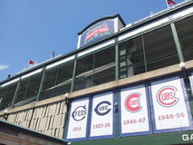 Estadio de Cubs foto de archivo libre de regalías