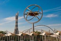 Estadio de Doha Khalifa Foto de archivo