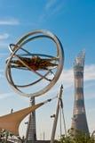Estadio de Doha Khalifa Imagen de archivo