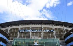 Estadio de Etihad - arena de Manchester City Foto de archivo