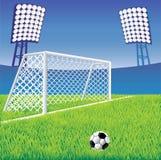 Estadio de fútbol. ilustración del vector
