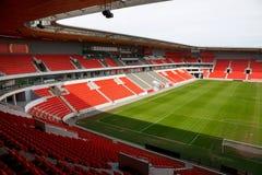 Estadio de fútbol Fotos de archivo