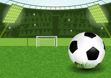 Estadio de fútbol Imágenes de archivo libres de regalías