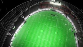 Estadio de fútbol libre illustration
