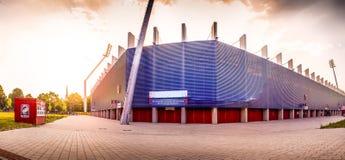 Estadio de fútbol Imagenes de archivo