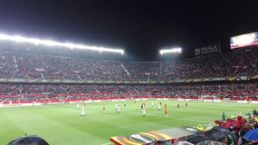 Estadio de fútbol Foto de archivo