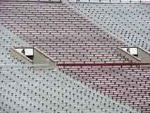 Estadio de fútbol Fotos de archivo libres de regalías