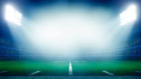 Estadio de fútbol americano fotos de archivo