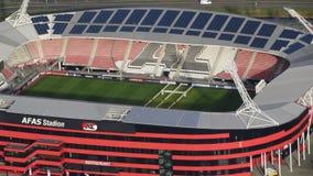 Estadio de fútbol de AFAS para AZ Alkmaar Imagen de archivo