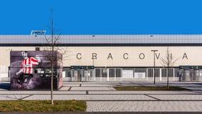 Estadio de fútbol de Cracovia fotos de archivo libres de regalías
