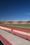 Estadio de fútbol de la universidad Imágenes de archivo libres de regalías