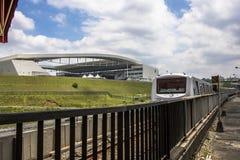 Estadio de fútbol de los Corinthians de la arena Imagen de archivo