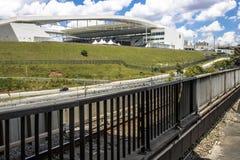 Estadio de fútbol de los Corinthians de la arena Fotografía de archivo libre de regalías