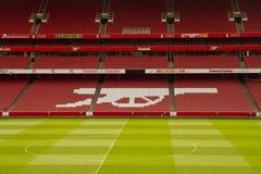 Estadio de fútbol del emirato Imagen de archivo libre de regalías