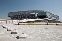 Estadio de fútbol en Lviv Fotos de archivo libres de regalías