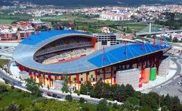 Estadio de fútbol moderno Foto de archivo libre de regalías