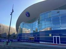 Estadio de fútbol de Parc des Princes fotos de archivo