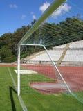 Estadio de fútbol vacío Fotografía de archivo libre de regalías
