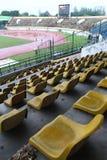 Estadio de fútbol vacío Imagenes de archivo