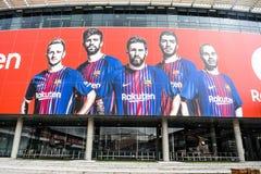 Estadio de FC Barcelona fotografía de archivo