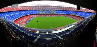 Estadio de FC Barcelona - campo de Catalunia Nou imágenes de archivo libres de regalías