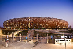 Estadio de FNB - estadio nacional (ciudad del fútbol) Imagen de archivo libre de regalías