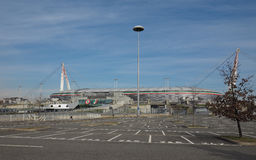 Estadio de Juventus en Turín Foto de archivo libre de regalías