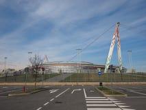 Estadio de Juventus en Turín Imagen de archivo libre de regalías