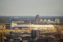 Estadio De Kuip de Feyenoord imagenes de archivo