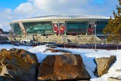 Estadio de la arena de Donbass Imagen de archivo libre de regalías