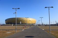 Estadio de la arena de PGE Fotografía de archivo libre de regalías
