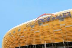Estadio de la arena de PGE en Gdansk Imagen de archivo libre de regalías