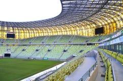 Estadio de la arena de PGE en Gdansk, Polonia Foto de archivo libre de regalías