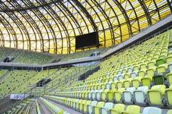 Estadio de la arena de PGE en Gdansk, Polonia Imagen de archivo libre de regalías