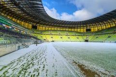 Estadio de la arena de PGE para 43.615 espectadores Imagenes de archivo