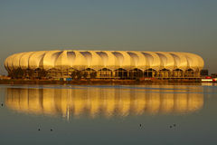 Estadio de la bahía de Nelson Mandela Foto de archivo