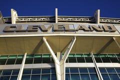 Estadio de los Cleveland Browns Imágenes de archivo libres de regalías