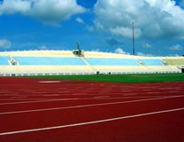Estadio de los deportes Foto de archivo