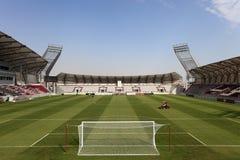 Estadio de los deportes de Lekhwiya en Doha Imagen de archivo